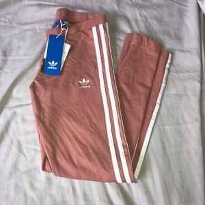 Dusty pink adidas leggings NWT 😋
